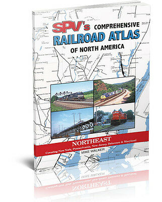 SPV Railroad Atlas - Northeast - New, Latest Edition, Steam Powered Video