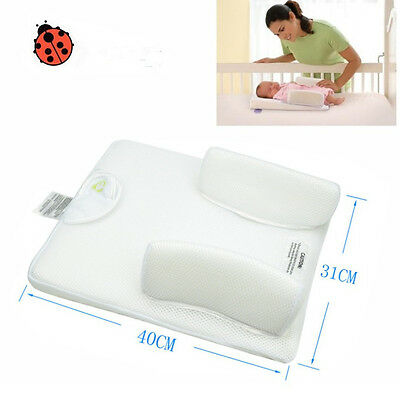Hot Sleep Positioner For Infant Baby Anti Roll Pillow Prevent Flat Head Cushion