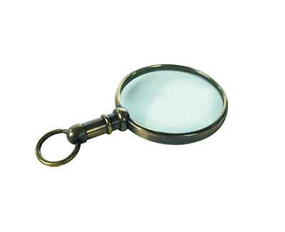 Mini Magnifier Lupe Authentic Models Messing