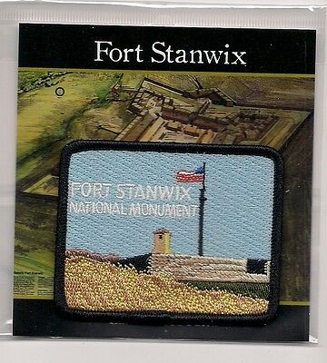 Fort Stanwix National Monument New York Souvenir Patch