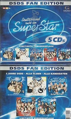 DSDS FAN EDITION --5 CDs