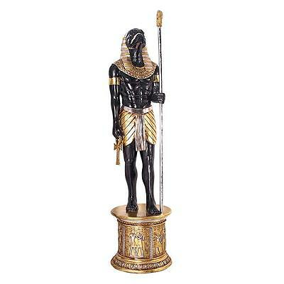 Egyptian Horus Falcon God of Divine Order Falcon Life Size Statue Over 7 Ft Tall