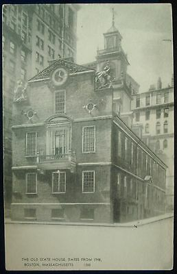 The Old State House Dates From 1748 Boston Massachusetts Used Postcard 1949