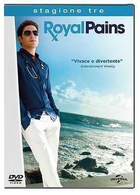 Royal Pains - Stagione 03  4 Dvd  Cofanetto  Serie-Tv