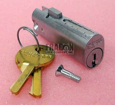 Chicago File Cabinet Lock Replacement Cylinder C5002LP Oval Plunger Style CompX