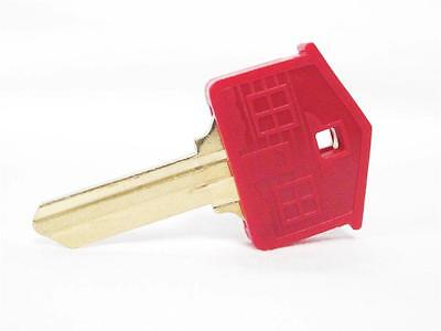 Lucky Line Key Caps House Shape Assorted Colors Fun Covers Identify Set of 6 x6