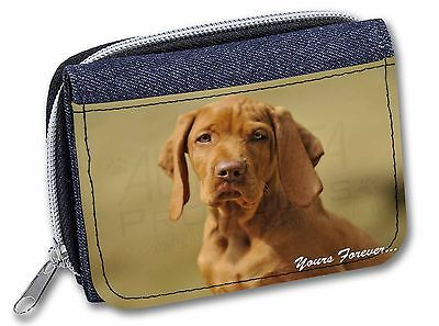 Hungarian Visla 'Yours Forever' Girls/Ladies Denim Purse Wallet Christ, AD-V2yJW