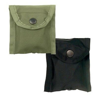 Rothco 408 Nylon Compass Pouch with Belt Clip - Black