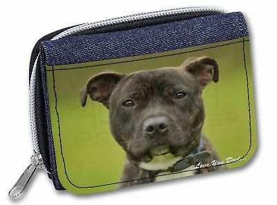 Staffie with Rose /'Love You Mum/' Little Girls Small Pink Shoppin AD-SBT2RlymBMP