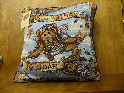 "Pillow designed for Boyds #57342 ""WINGS TO SOAR"", Manual Woodworkers"
