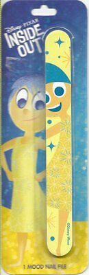 Disney Pixar Inside Out Yellow Joy Mood Nail File Party Favor Beauty Supply New