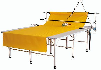"""4"""" fabric end cutter machine up to 96"""" across ,semi automatic complete set 110v"""