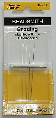 Beading Needles English Made - Size 12