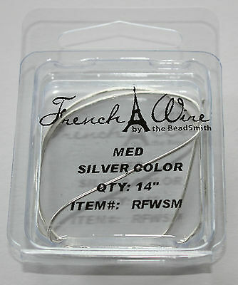 French Wire Silver EXTRA HEAVY bullion gimp stringing