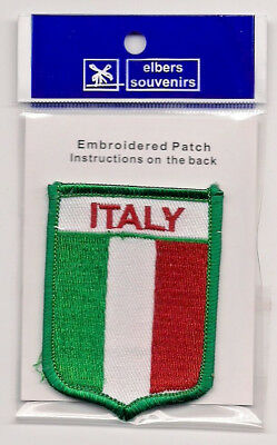Embroidered Souvenir Patch - Country Of Italy