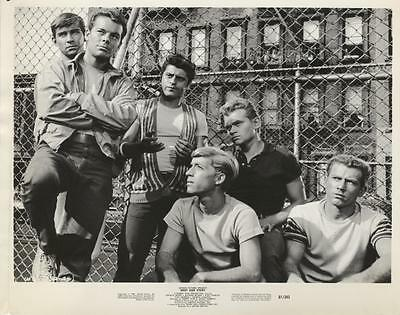 """""""west Side Story""""-Original Photo-Russ Tamblyn And Gang"""