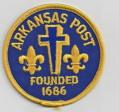 Souvenir Bsa Patch -  Arkansas Post
