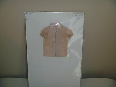 Vintage 1962-63  Pajama Top For Barbie Also Will Fit Skipper TLC