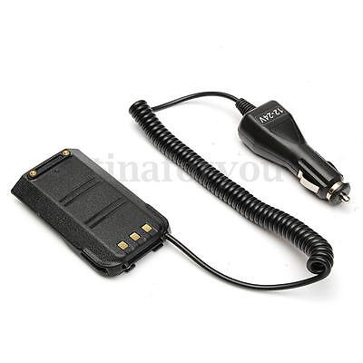Car Charger Battery Eliminator for TYT MD-380 Retevis RT3 Ham Walkie Talkies