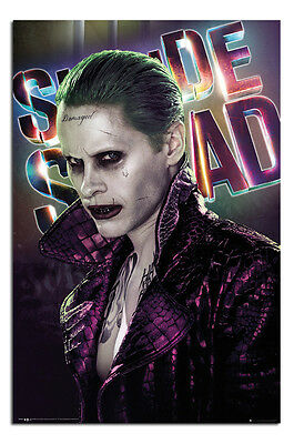 Suicide Squad Joker Film Poster New - Maxi Size 36 x 24 Inch