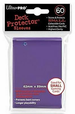 60 Bustine Protettive Ultra PRO Yu-Gi-Oh! SMALL PURPLE Viola Sleeves Buste Deck
