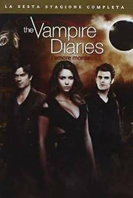 The Vampire Diaries - Stagione  06  5 Dvd  Cofanetto