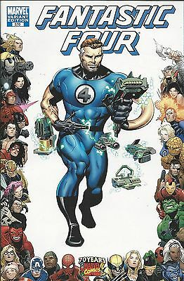 Marvel Fantastic Four comic issue 570 Limited variant .