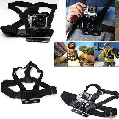 Digital Camera Chest Harness Strap Body Holder Mount Belt Universal Action