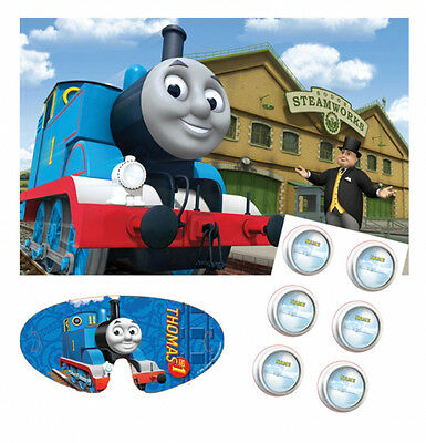 Thomas the Tank Engine Childs Birthday Party Game - Like pin the tail on donkey
