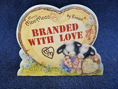 Enesco Mary's Moo Moos, Branded With Love, Display Displayer (pt638)
