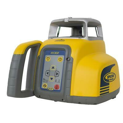 Spectra HV302 Contractors Self-Leveling Rechargeable Battery Laser Level Kit