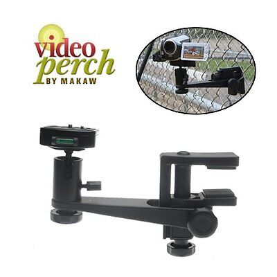 Makaw Video Perch Camera Mount Clamp and Quick Release