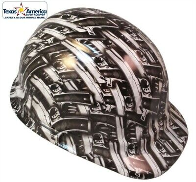 NEW! Hydro Dipped Cap Style Hard Hat w/ Ratchet Suspension - Model 1911 Pistol