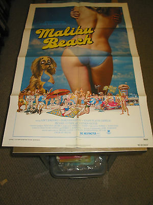 Malibu Beach/orig. U.s. One Sheet Movie Poster (Kim Lankford)