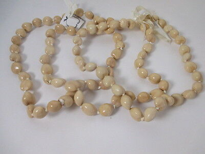 Ann Taylor Jewel Nuts of Paradise Island Necklace NWOT $98 set of 3
