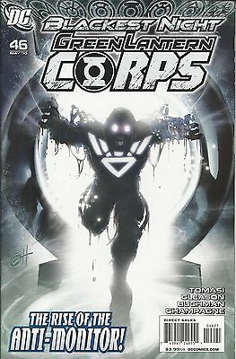 DC Green Lantern Corps comic issue 46 Limited variant