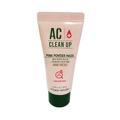 ETUDE HOUSE AC Clean Up Pink Powder Mask Sample - 20ml