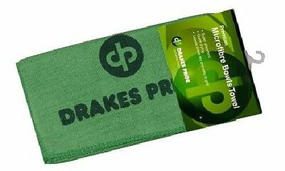 Drakes Pride Wet And Dry Micro Fibre Lawn Bowls Cloth Duster Towel New In Stock