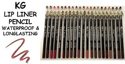 Krazy Girl Waterproof Long Lasting Lip Liner Pencil & Sharpener **choose Shade**