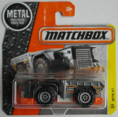 Matchbox - Mountain Mover / MTN XT anthrazitmet./grau/orange Neu/OVP Verpackung