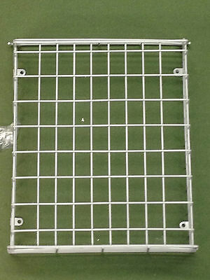 White Letterbox Cage Large Post Mail Letter Pet Dog Guard Box