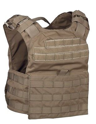 US Cyclone Plate Army Molle Plate Carrier Coyote Trägerweste Made USA