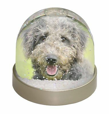 Beddlington Terrier Dog Photo Snow Dome Waterball Stocking Filler Gif, AD-BED1GL