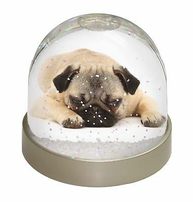 Pug Dog Photo Snow Dome Waterball Stocking Filler Gift, AD-P92GL