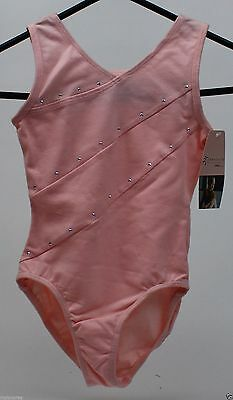 Freestyle Danskin Pink Sleeveless Leotard Size Small 6/6X NWT
