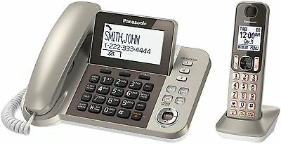 Panasonic Dect 6.0+ Corded/Cordless Phone with ITAD KX-TGF350N