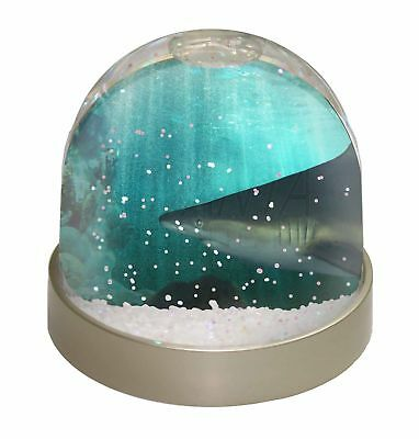 Shark Photo Photo Snow Dome Waterball Stocking Filler Gift, AF-SHA1GL