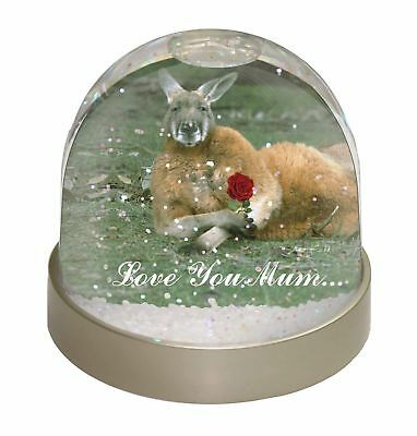 Kangaroo+Rose 'Love You Mum' Photo Snow Dome Waterball Stocking Fill, AK-1RlymGL