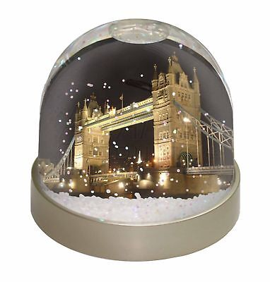 London Tower Bridge Print Photo Snow Dome Waterball Stocking Filler G, PLA-LO1GL