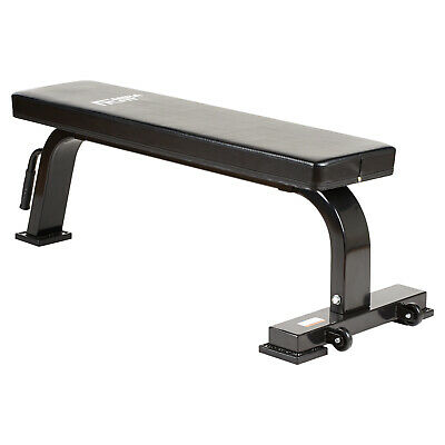 Mirafit Semi Commercial Flat Gym Weight Bench Dumbbell/Barbell Lifting/Press HD